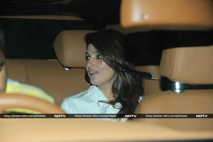 Twinkle Khanna\'s Dinner Time With Dimple