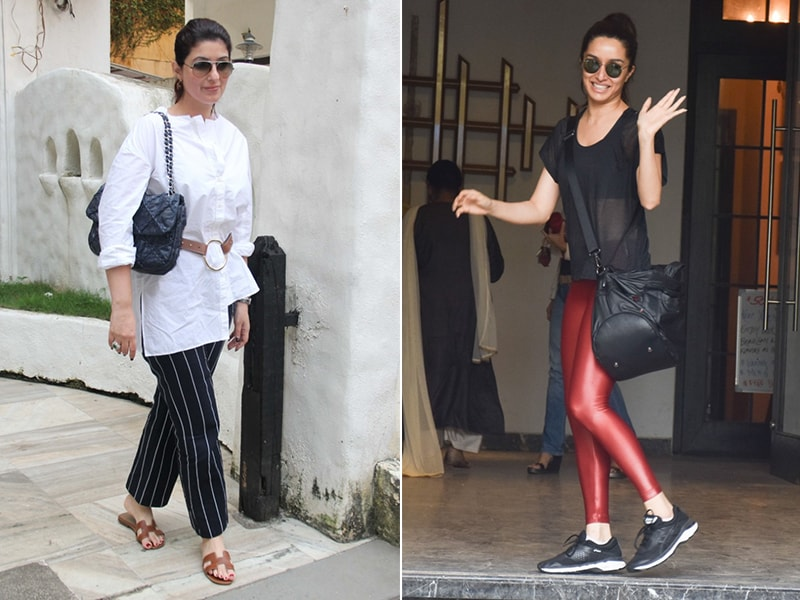 Twinkle Khanna And Shraddha Kapoor's Mid-Week Diaries