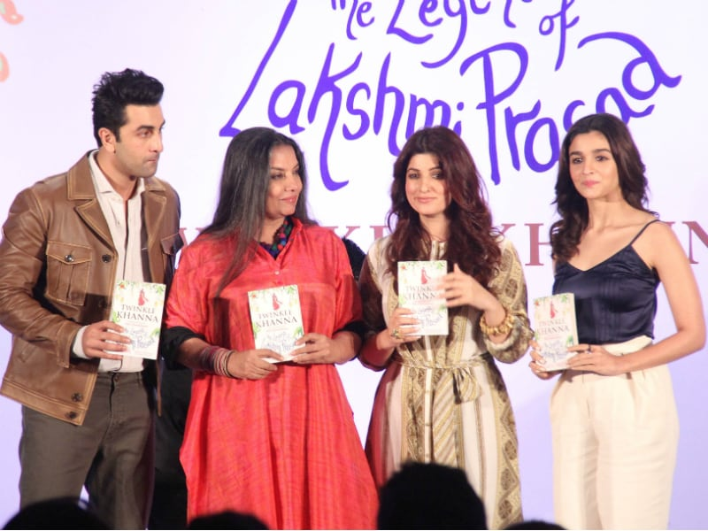 Twinkle Khanna's Big Day With Akshay, Aarav, Alia And Ranbir