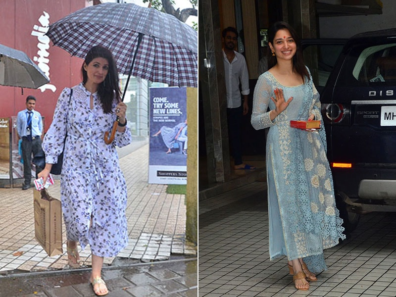 Twinkle Khanna And Tamannaah Bhatia Began The Week Like This