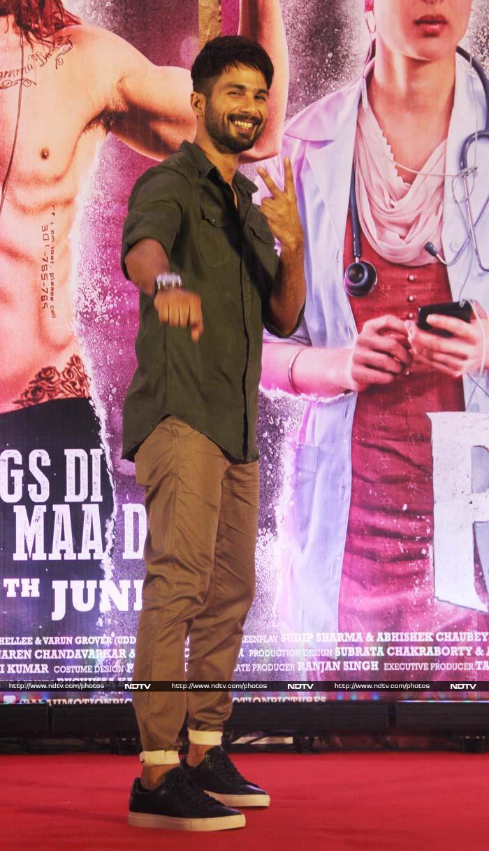 जश्न के माहौल में उड़ान भरती दिखी फिल्म 'उड़ता पंजाब' की टीम....