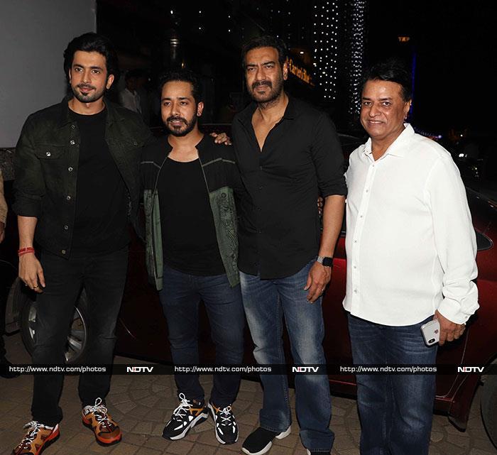 Ajay Devgn, Nushrat Bharucha Watch Sunny Singh And Maanvi Gagroo\'s Ujda Chaman