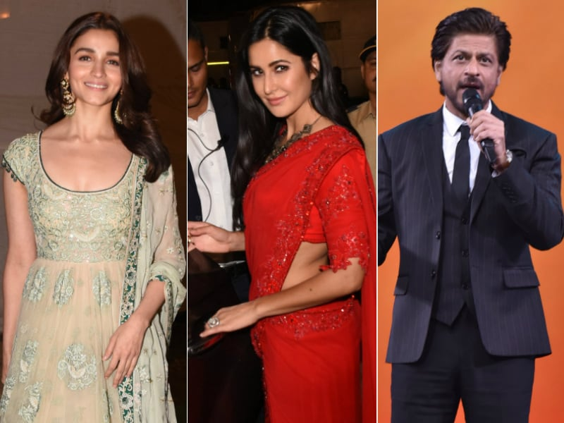 Alia, Ranbir, Katrina Join The Khans And Big B For Star Trek In Mumbai