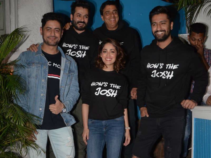 Uri's Vicky Kaushal, Yami Gautam Are High On The Film's Success