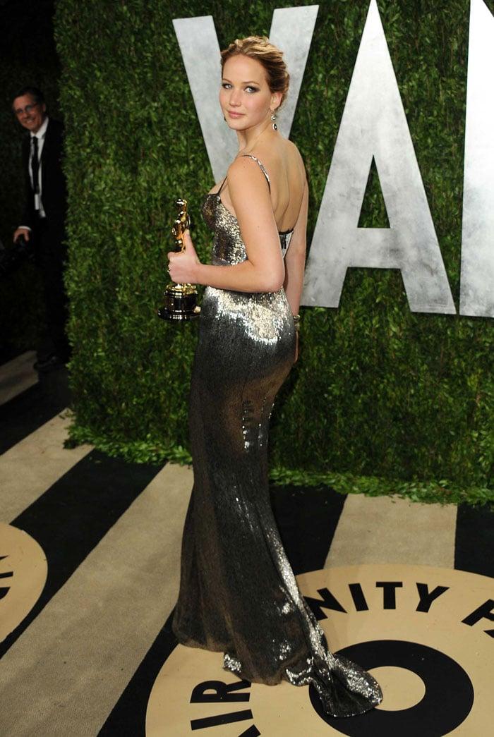 Jennifer Lawrence Oscars 2017 After Party