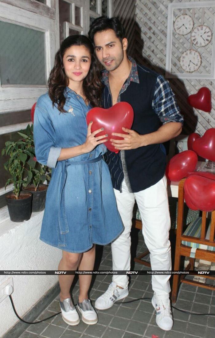 Varun Dhawan Celebrates Valentine\'s Day With His \'Dulhania\' Alia Bhatt