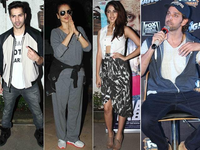 Varun, Rekha, Hrithik, Rhea And Their Love For Movies