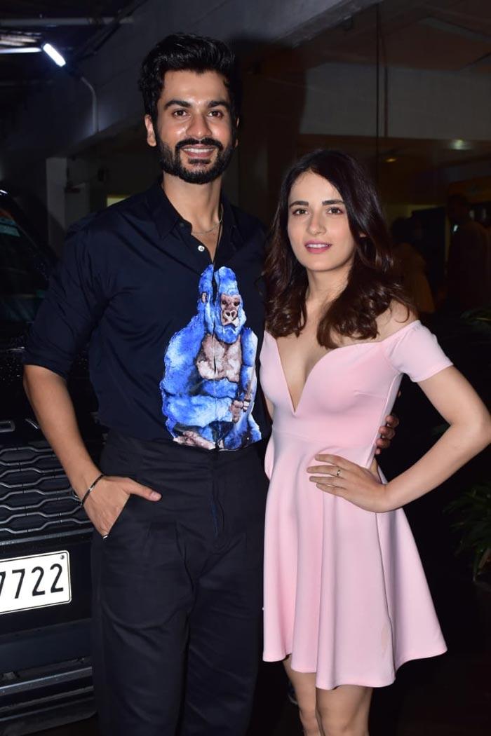 Vicky Kaushal And Family Joined Brother Sunny Kaushal And Radhika Madan At Shiddat Screening