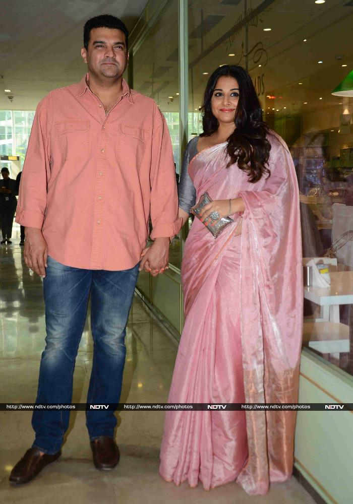 Vidya And Siddharth Spotted Hand-In-Hand At Neerja\'s Success Party