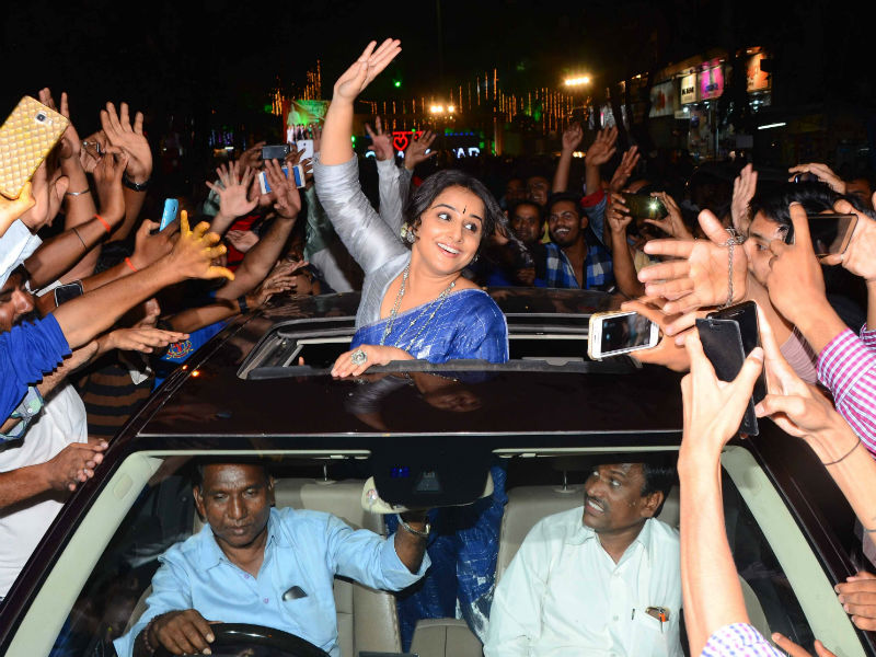 Vidya Balan's Kahaani Of Three Looks In One Night