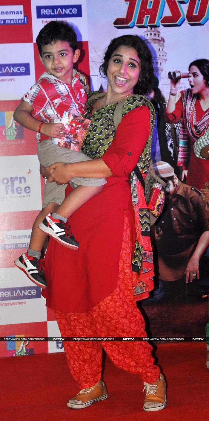Bobby Jasoos and Friends: Vidya, Sangeeta, Suhana