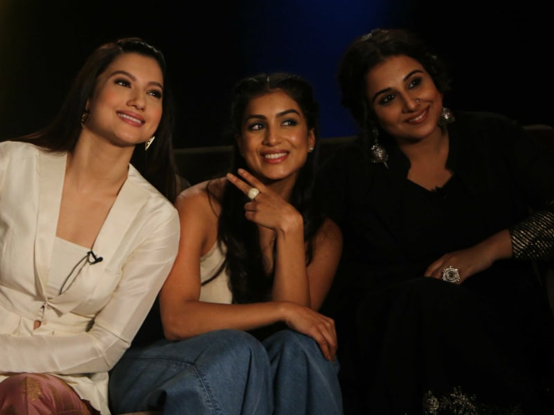 Vidya Balan's Day Out With Begum Jaan Ladies
