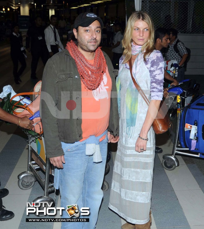 Vikram Chatwal and his new supermodel girlfriend