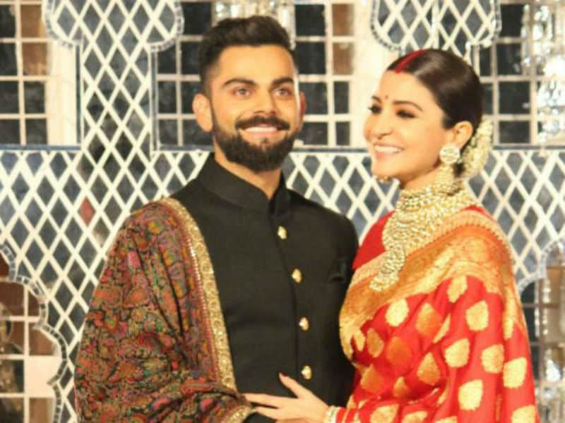 Virushka At Their Delhi Reception