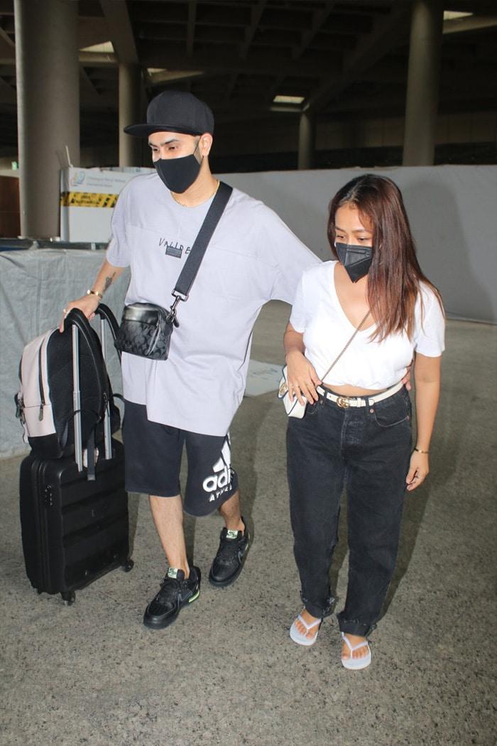 Anushka-Virat, Neha-Rohanpreet And Jasmin-Aly: Couples Spotted At The Airport