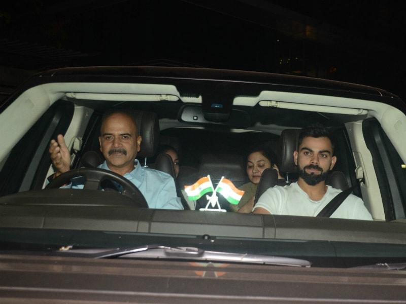 Virat Kohli Watches Pari With Anushka's Parents