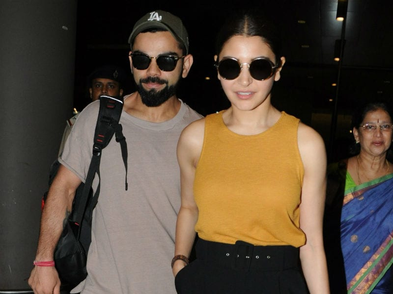 Hello There, Make Way For Anushka And Virat