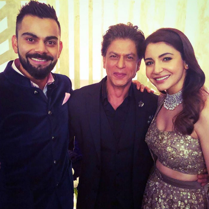 Best Of Virushka Moments With Bachchans, SRK At Mumbai Reception