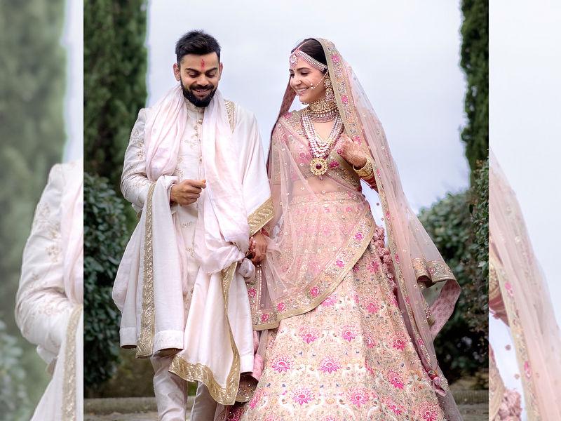 Photo : 12 तस्वीरों में देखें #Virushka का Wedding Album
