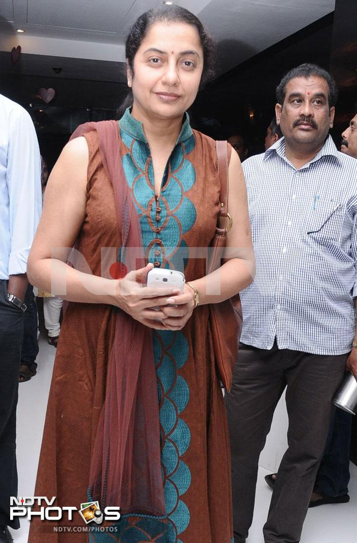 South stars at Vishwaroopam premiere