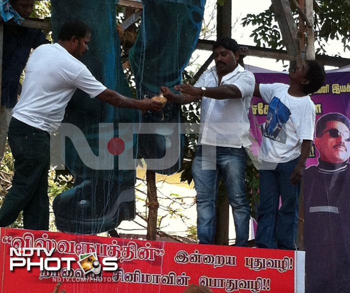 IN PICS:  Chennai\'s big welcome for Kamal Haasan\'s Vishwaroopam