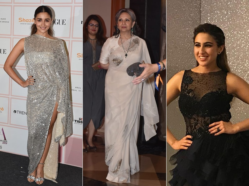 Vogue Beauty Awards 2019: Alia Bhatt, Sharmila Tagore And Sara Ali Khan Lead Celeb Roll-Call