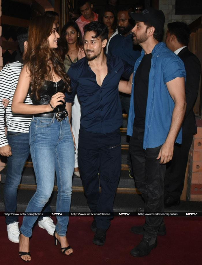 Inside War\'s Rs 300 Crore Celebrations With Hrithik, Tiger And Vaani