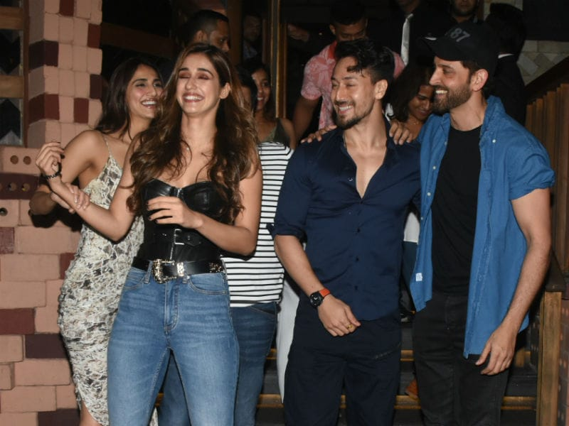 Inside War's Rs 300 Crore Celebrations With Hrithik, Tiger And Vaani