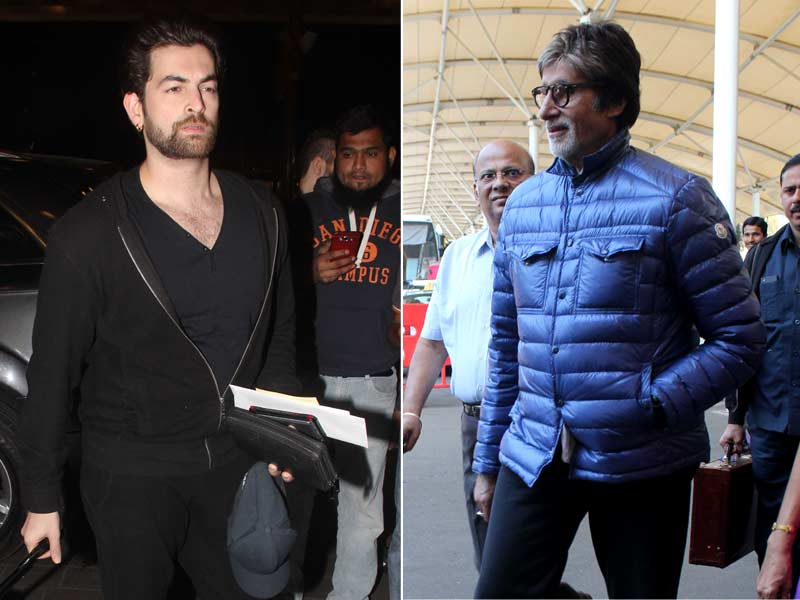 Photo : When Amitabh Bachchan Was Spotted with Wazir