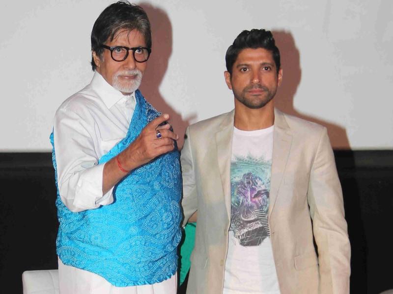 Wazirs of Bollywood: Amitabh Bachchan, Farhan Akhtar
