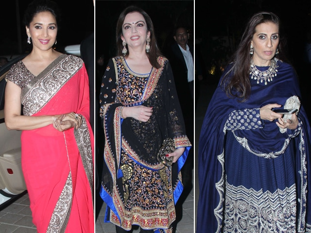 Madhuri, Nita, Sunita's Guide for Wedding Style This Season