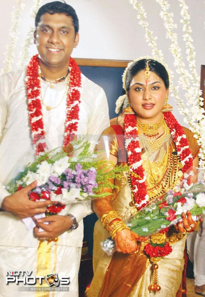 South actress Pranathi marries