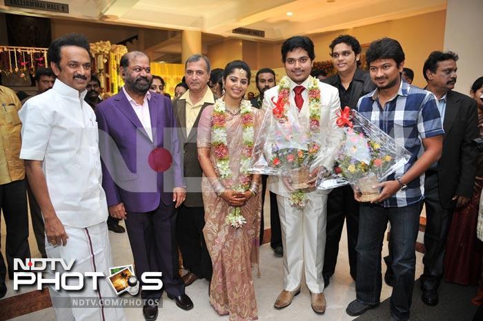 Rajinikanth at Shakthi\'s wedding