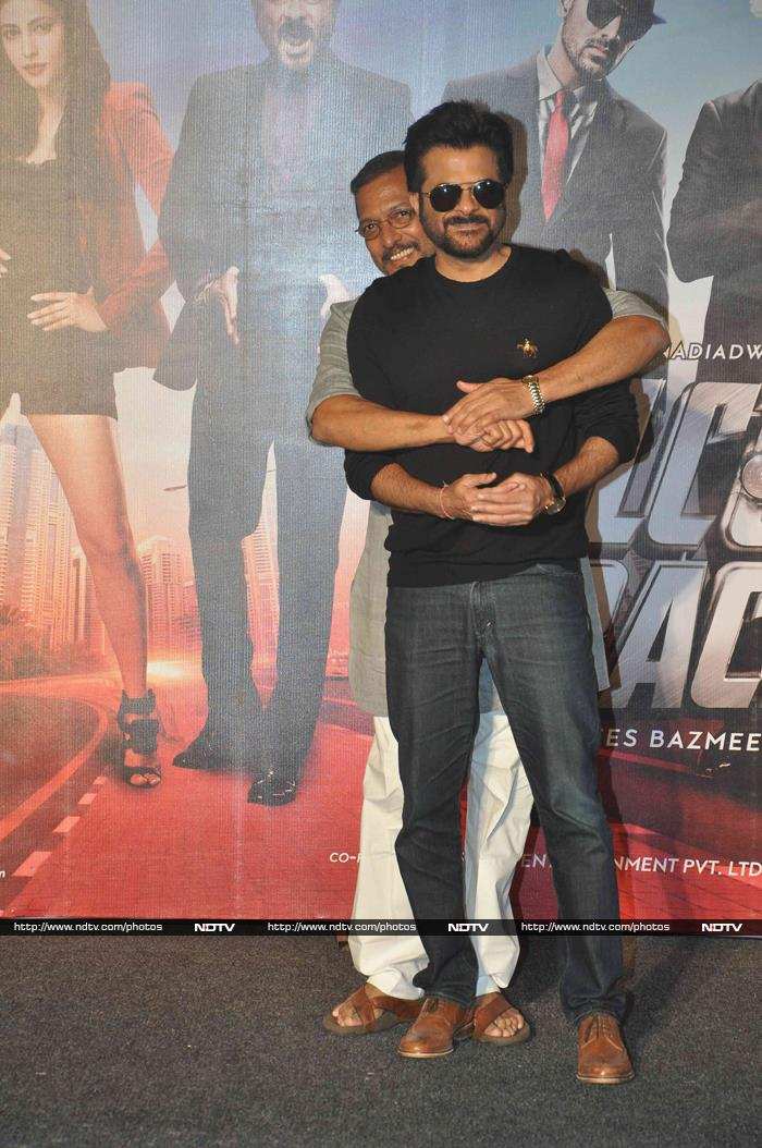Anil, Nana Welcomed Back With a Blast