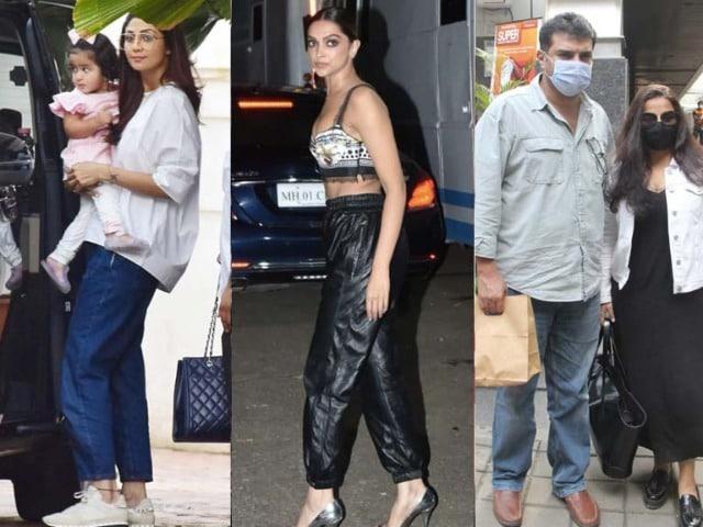 Photo : What's Keeping Deepika, Vidya And Shilpa Busy