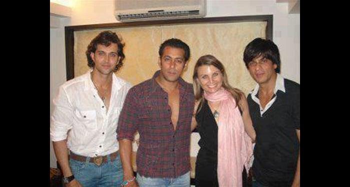 From happier times: SRK, Salman, Hrithik