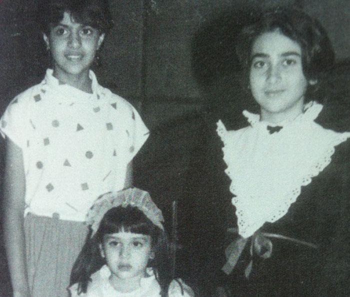 Childhood buddies: Kareena, Karisma, Kajol