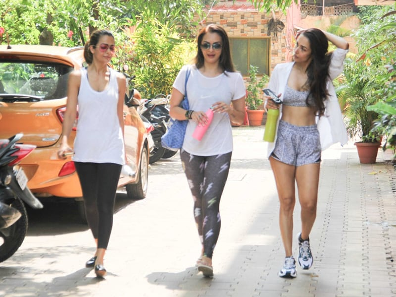 Malaika Arora, Amrita Arora and Seema Khan's Fitness Diaries