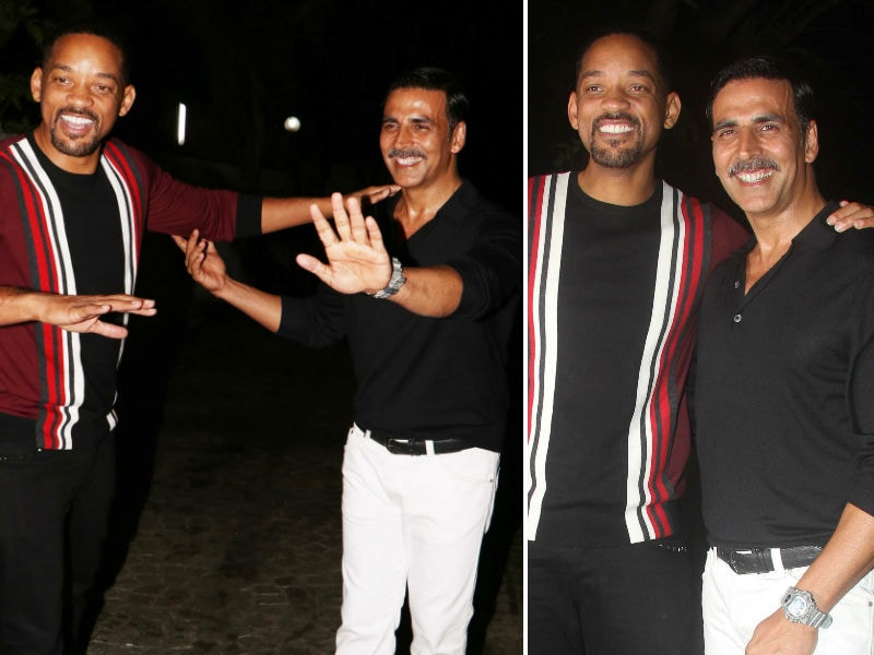 Photo : Will Smith Was The Special Guest At Akshay's Party In Mumbai