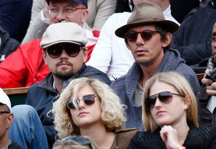 Spot the star at the French Open