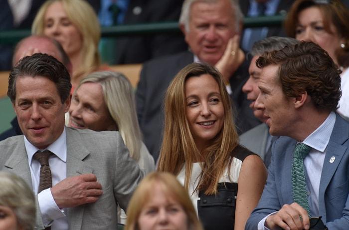 Djoker-FedEx\'s Celeb Audience: Kate, Cumberbatch, Hugh Grant