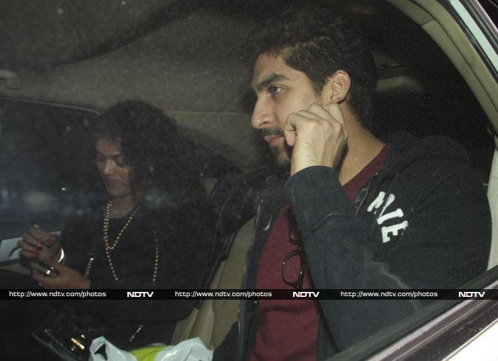 Katrina, Ranbir\'s date with Aamir
