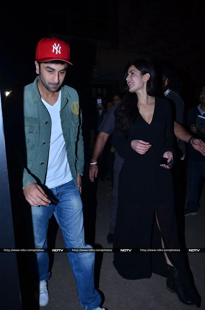 Ranbir, Katrina\'s movie date