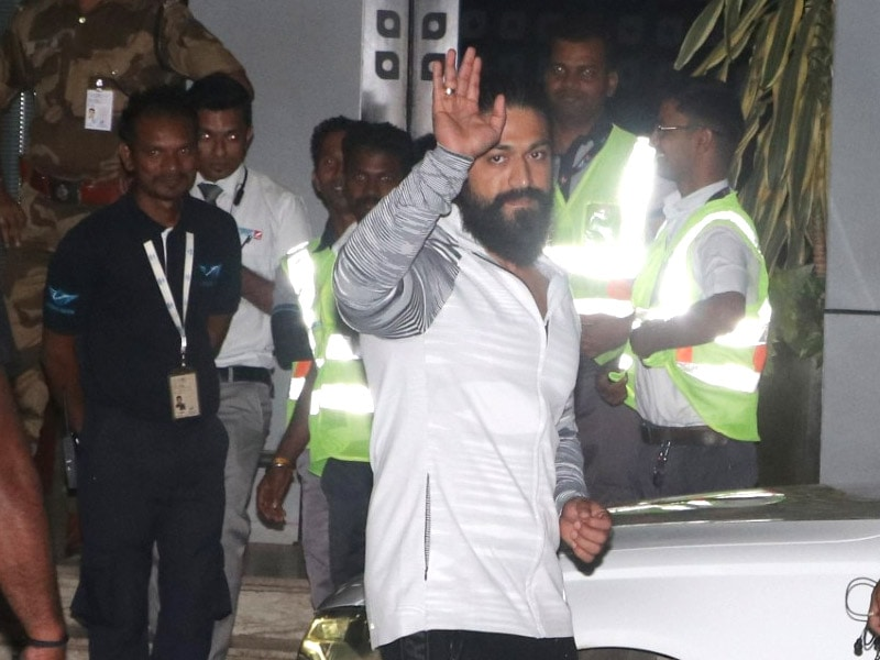 KGF: Chapter 2 Star Yash Flew Into The Bay