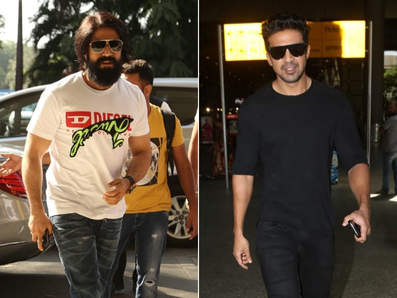 Yash And Saqib Saleem's Airport Style Game Is Strong