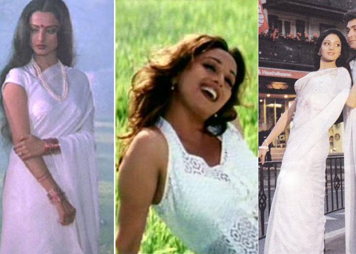 Yash Chopra\'s women in white