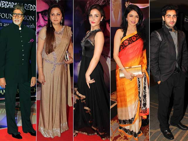 Bollywood Glitters at the Yash Chopra Memorial Award Ceremony