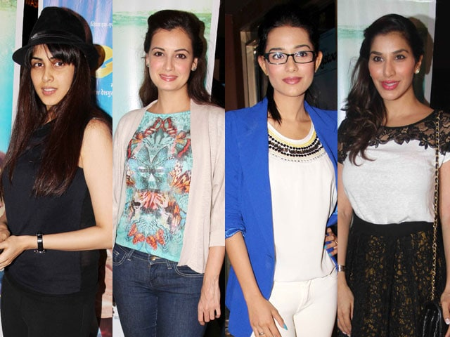 Lady luck for Yellow : Genelia, Dia, Amrita, Sophie