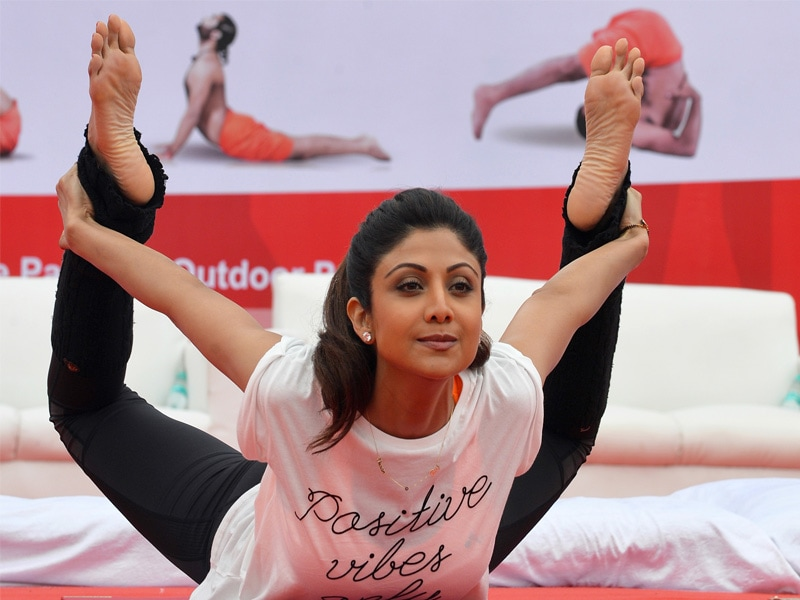 Yoga Day: Bend it Like Shilpa, Kriti, Tiger