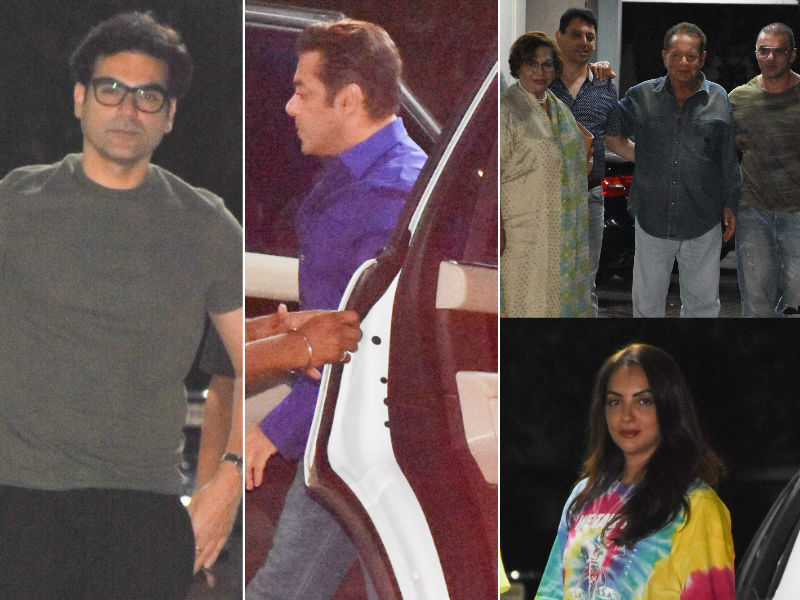 Salman And Khandaan Celebrate Sohail Khan's Son Yohan's Birthday